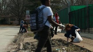Students in Ferguson on spring break to help rebuild community