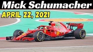 On the morning of thursday, 22 april, mick schumacher returned to fiorano track aboard 2018 ferrari sf71h. young german is like at home here; in ...