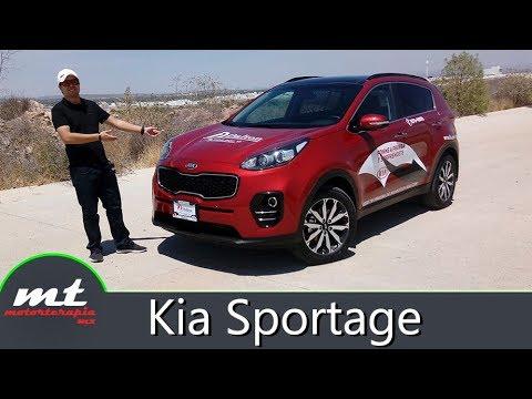 Kia Sportage 2018 - SUV hecha para hombres.