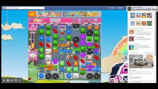 HOW TO... level 1145 candy crush NO BOOSTERS ***