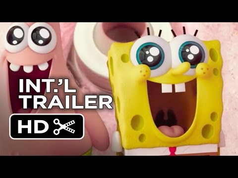The SpongeBob Movie: Sponge Out of Water Official International Trailer #1 (2015) - Movie HD