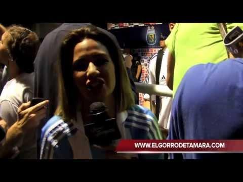 Tamara Gorro Entrevista a Ezequiel Garay, Messi y Gonzalo Higuaín