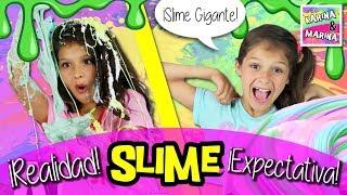 🌈 Hacer SLIME: EXPECTATIVA vs REALIDAD 🌈  Slime VS Slime 🦄 Competición El MEJOR SLIME DEL MUNDO