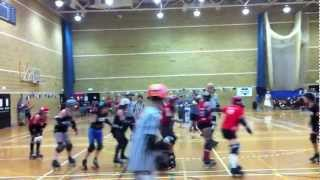 Brighton Rockers Roller Derby Bout 26th May 2012