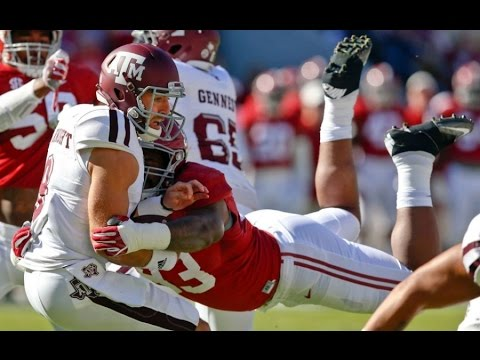 Jonathan Allen (Alabama) vs. Texas A&M (2016)