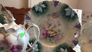 Estate Sale Finds Video #186:  Lots of RS Prussia Plus Sterling