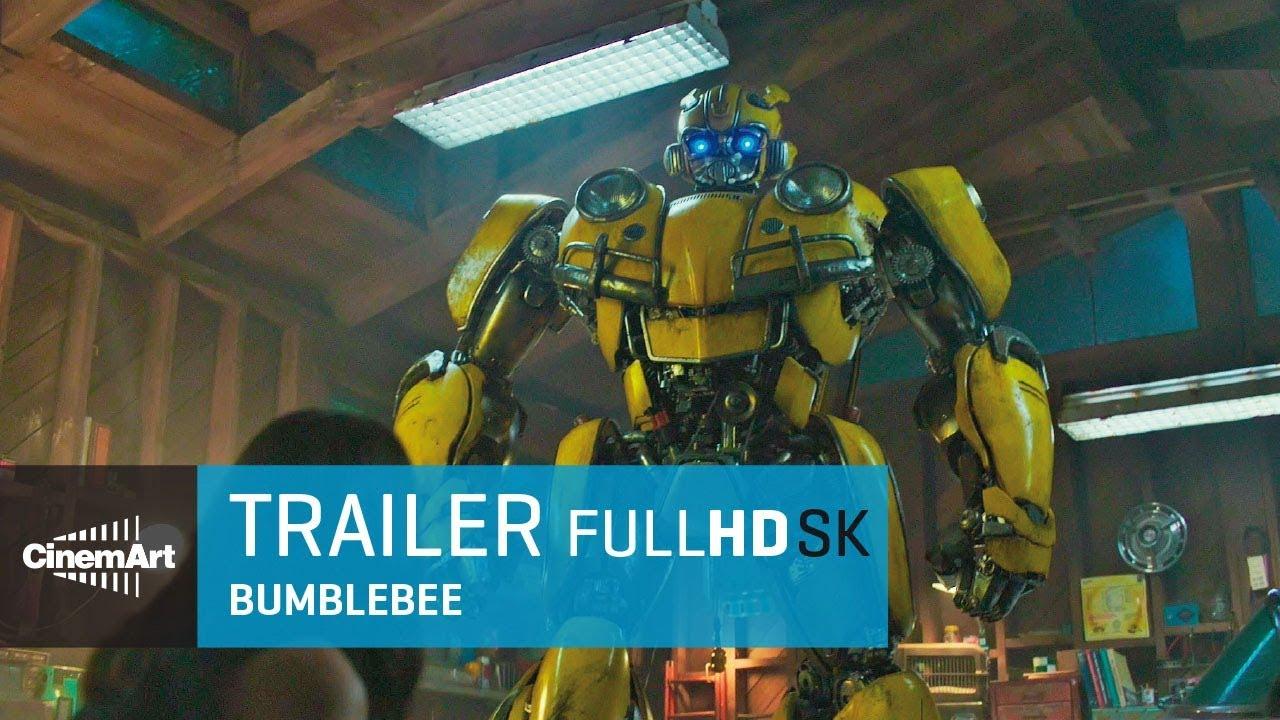 Bumblebee (2018) oficiálny HD trailer [SK DAB]