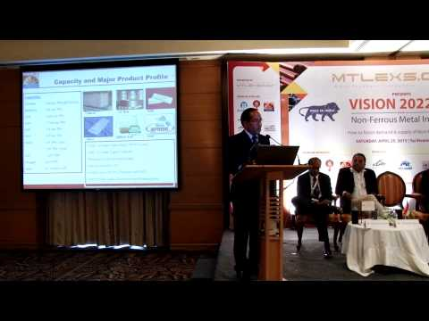 Mr. P.R. Landge, Hindalco Industries at Mtlexs : Make In India Conference