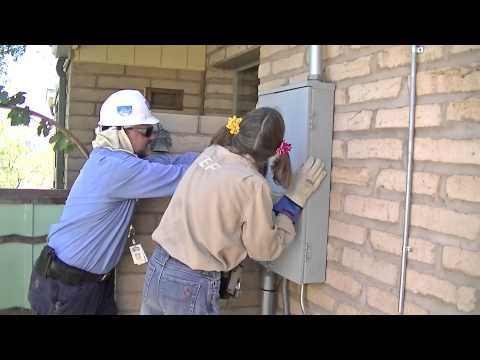 TEP Electric Utility Meter Change from AMR Radio Frequency Transmitting to Mechanical