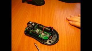 ремонт и доработка компьютерной мышки.