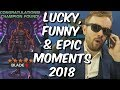 Seatin Lucky, Funny & Epic Moments 2018 - Mega Compilation - Marvel Contest Of Champions