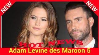 Adam Levine des Maroon 5 papa : découvrez le prénom de sa fille