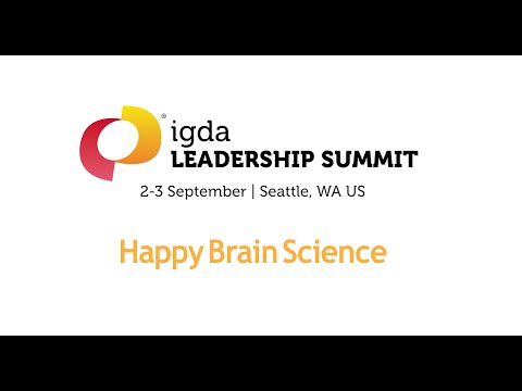 Engaging Your Employees to do Great Work, Happily - Scott Crabtree at IGDA Leadership Summit 2015