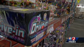 Just in time for July 4th, a fireworks shortage