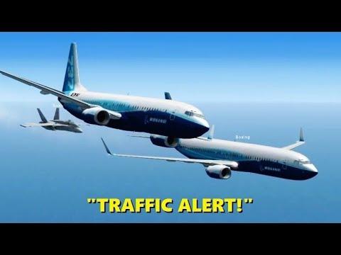 CHAOS @ 32,000 FEET! Airline Pilots in Flight Simulator X (Multiplayer)