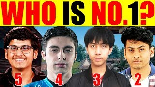 Who Is No.1? Pubg Player | Top 5 PUBG Player | PUBG Mobile