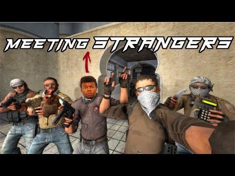 MEETING STRANGERS ON CS:GO!!