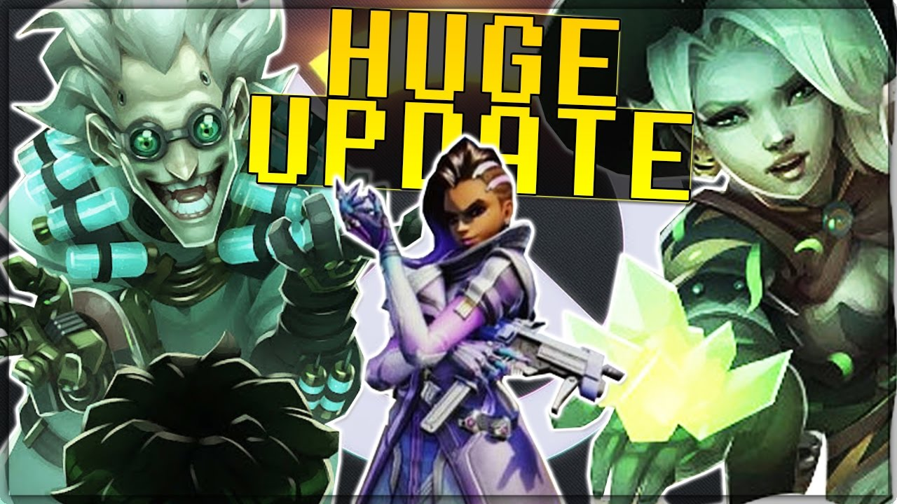 Sombra Revealed, New Game Mode, All New Skins, New Lore Analysis ...
