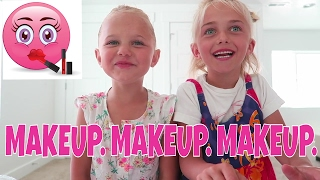 Cutest Kids Makeup Tutorial | Perri And Her Best Friend!