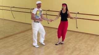 Сальса видео — Урок сальса №14 «Vacilala»