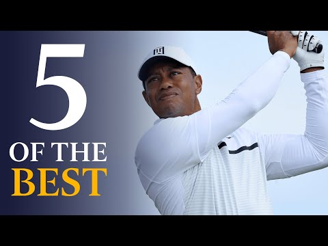 Tiger Woods - Five Of The Best Open Shots