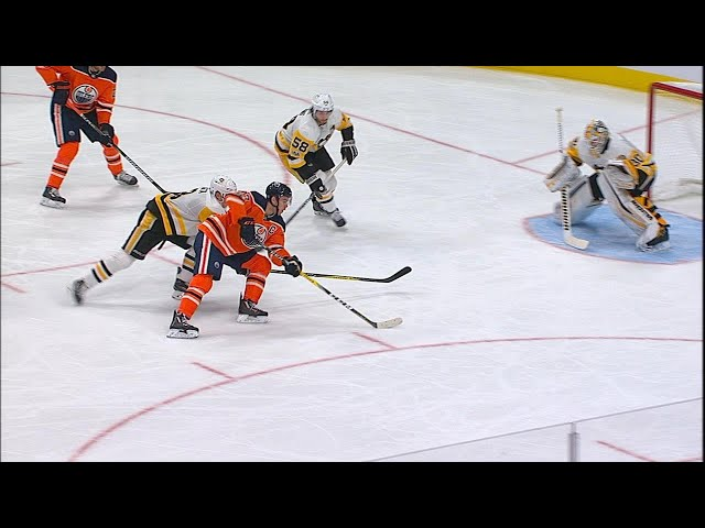 Leon Draisaitl cashes in on McDavid's silky feed