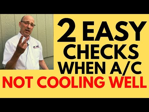 Air Conditioner Not Cooling Enough [2 Simple Checks To Do Yourself]