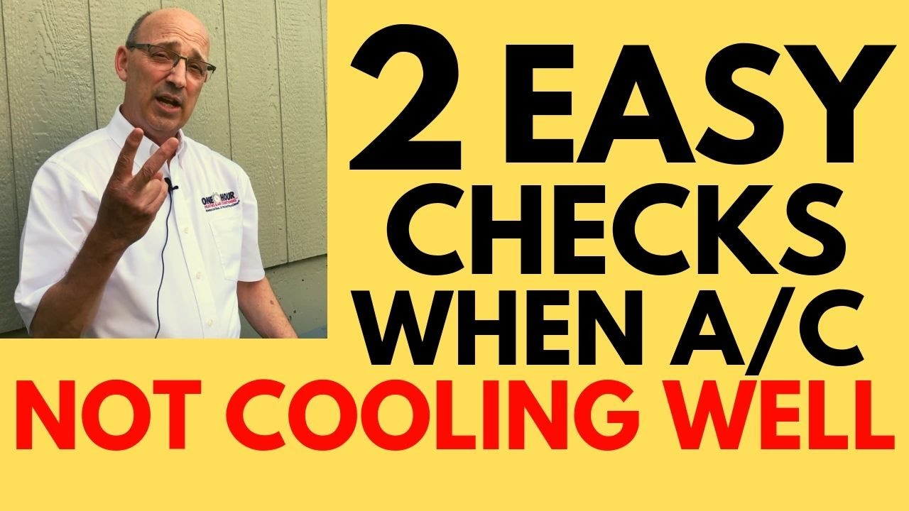 Download Air Conditioner Not Cooling Enough [2 Simple Checks to Do Yourself]