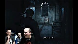 I CALL SHOTGUN! Reacting to Resident Evil 2 Remake SHOTGUN Gameplay and Demo!