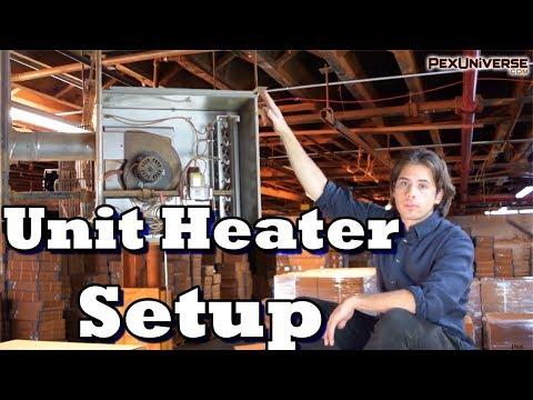 modine-unit-heater-installed:-breakdown