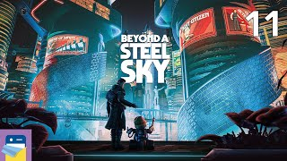 Beyond a Steel Sky: iOS Apple Arcade Gameplay Walkthrough Part 11 (by Revolution Software)