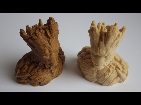 3D Printed in Wood - Groot - Tips & Tricks