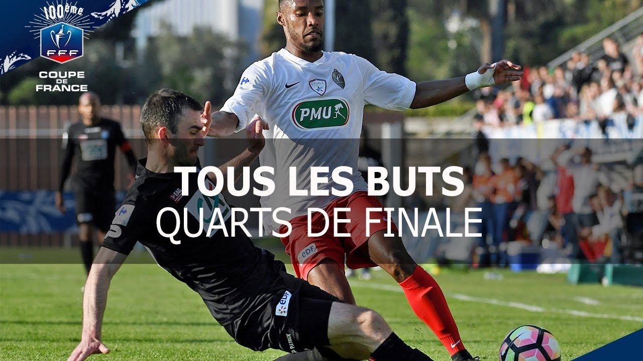 Coupe de france quarts de finale tous les buts youtube - Quarts de finale coupe de france ...