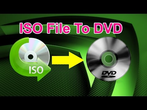 How To Burn ISO File To CD or DVD Using Nero (Bootable Disc)