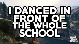 STORYTIME - DANCING IN FRONT OF THE WHOLE SCHOOL