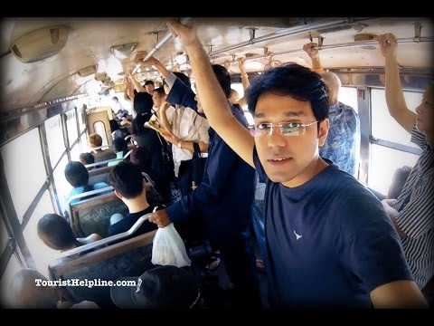 How to reach Bangkok railway station for free! (Hua Lamphong)