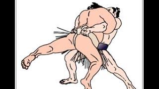Wakanosato vs Shimotori - Haru Basho 2004.