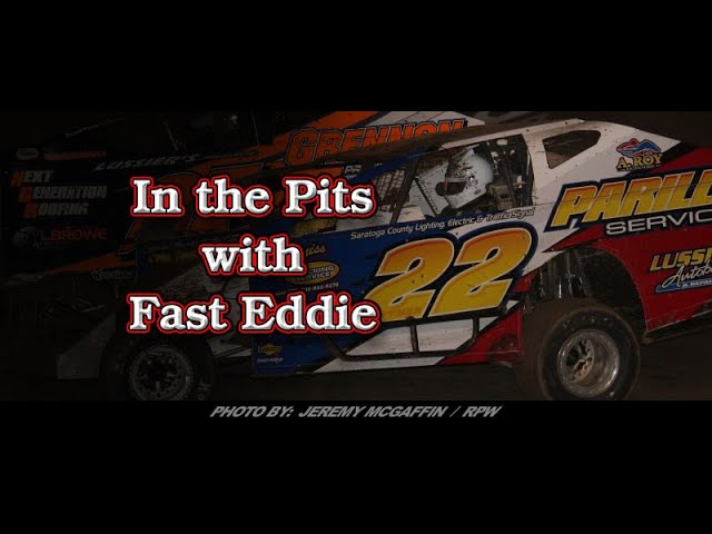 In the Pits with Fast Eddie Tim Hartman Jr