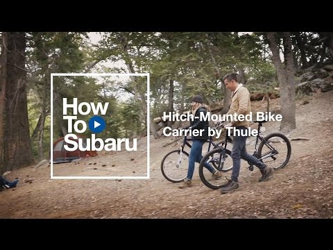 Subaru How-to: Accessory Hitch-mounted Bike Carrier By Thule