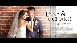 Jenny and Richard – Wedding Highlight at the W Hoboken in NJ by Live Picture Studios