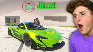I STOLE Jelly's RAREST Supercar In GTA 5.. (Mods)