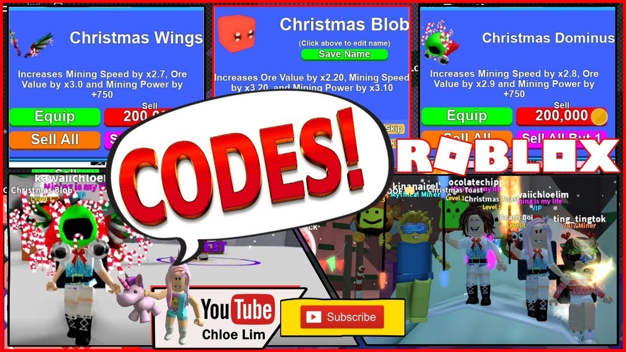 Roblox Mining Simulator Gamelog December 9 2018 Free Blog