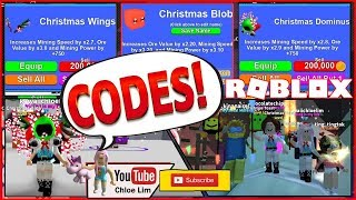 🎄 Roblox Mining Simulator! New Christmas World, Quests, Pets and More! 5 NEW CODES! LOUD WARNING!