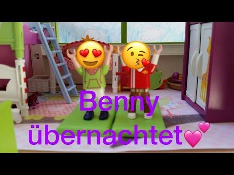 Übernachtung mit Benny / Playmobil Familie Tobler