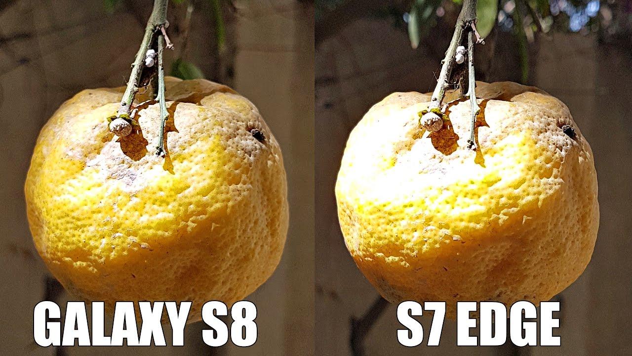 Samsung Galaxy S8 Plus Vs S7 Edge Camera Test 4k
