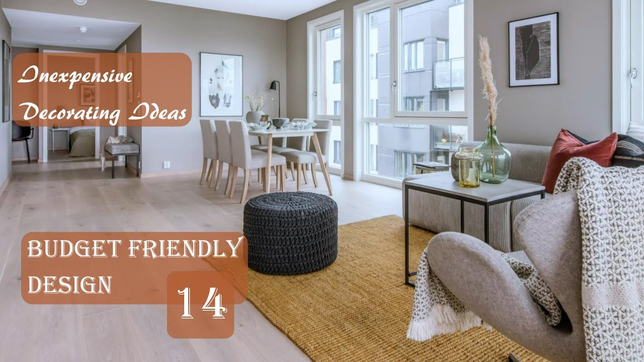 Inexpensive Decorating Ideas | Budget-Friendly Design