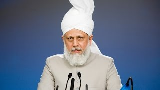 Keynote address Global Conflicts & The Need for Justice by Khalifa of Islam