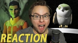 Star Wars Rebels Mid-Season 4 Trailer REACTION