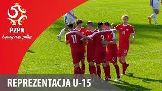 U-15: Bramki z meczu Polska - Finlandia