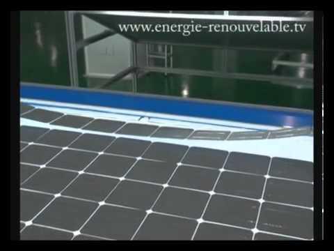 Très fabrication panneau solaire photovoltaique - YouTube XS48